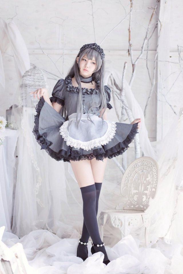 エロコスプレイヤー メイド画像