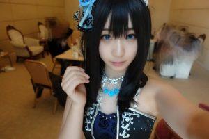 伊織もえ C93 アイドルマスターシンデレラガールズ 鷺沢文香 コスプレ画像