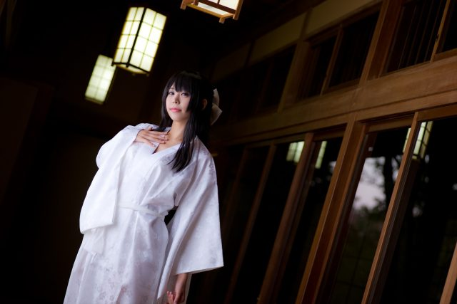 コスプレイヤーつぐ 和服で緊縛がエロい 『ナナとカオル』 千草奈々のコスプレ画像