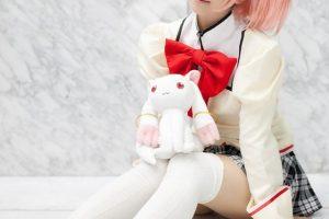 コスプレイヤー香坂ゆん 魔法少女まどか☆マギカ コスプレ 画像