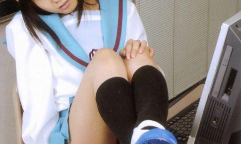コスプレイヤー松永亜矢香 涼宮ハルヒ 制服コスプレ 画像