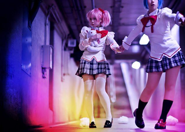 コスプレイヤー香坂ゆん 『魔法少女まどか☆マギカ』 鹿目まどかコスプレ画像