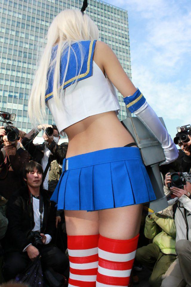 コスプレイヤー五木あきらの『艦隊これくしょん』島風のコスプレ画像