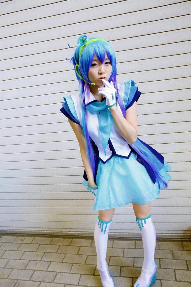 くろねこ パンチラ ミニスカ 蒼姫ラピス コスプレ 画像