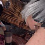 三原ほのか 美少女機械人形2B×アナル&マンコ2穴中出しファックで大量ザーメンぶっかけ画像