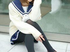 【画像】コスプレイヤー璃波 『ラブプラス』姉ヶ崎寧々の冬服セーラー服コスプレで黒光りしたタイツがエロいまとめ