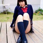 白石みずほ JK制服のコスプレ 画像