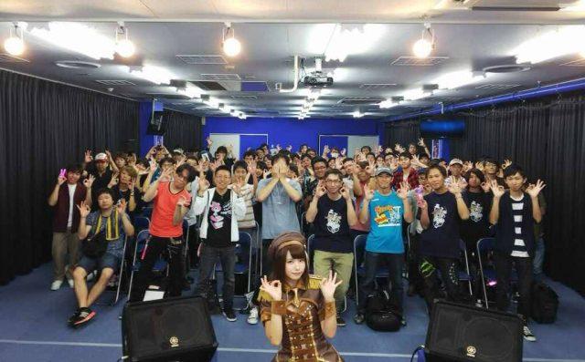 えなこ OOps!! 発売記念イベント 大阪アニメイト日本橋 ステージ衣装のコスプレ画像
