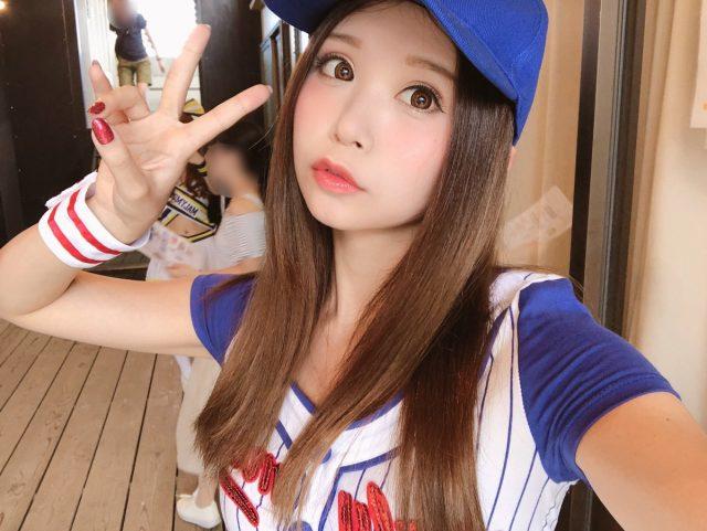 五木あきら 音霊 OTODAMA SEA STUDIO 2018 ベースボールガールのコスプレ画像