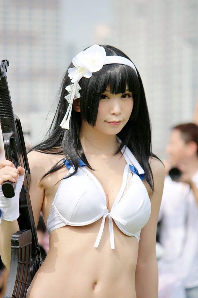 五木あきら C94 夏コミ ガールズフロントライン 95式のコスプレ画像