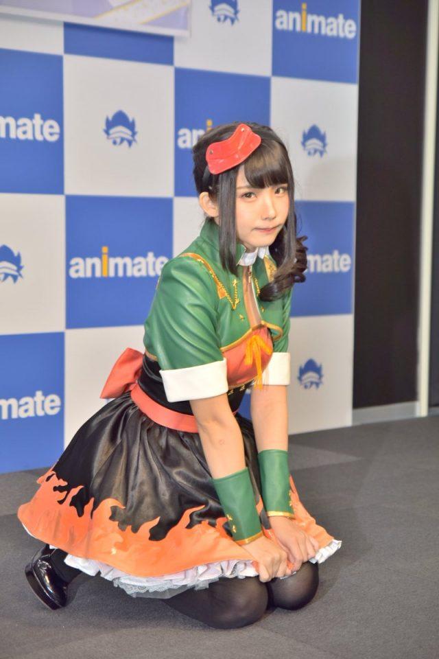 えなこ OOps!! 発売記念イベント 名古屋アニメイト ステージ衣装のコスプレ画像