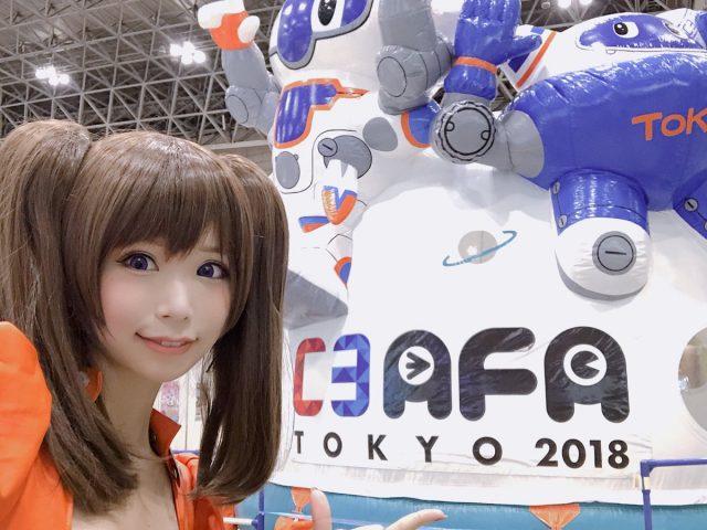 五木あきら C3AFA TOKYO 2018 『七つの大罪』ディアンヌのコスプレ画像