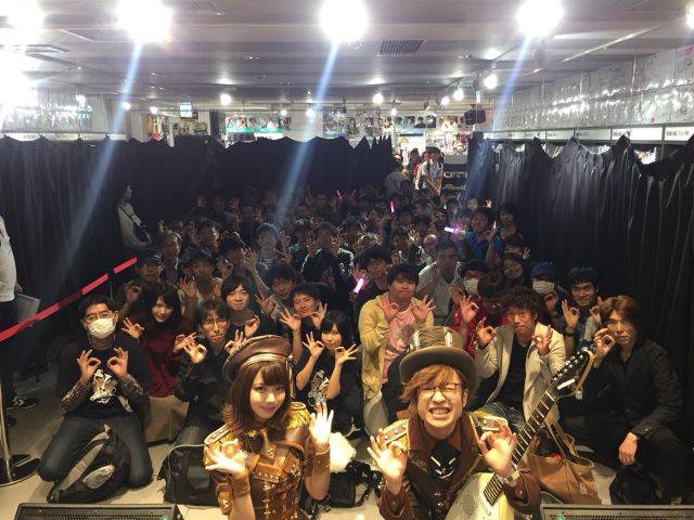 えなこ OOps!! 発売記念イベント HMV池袋 ステージ衣装のコスプレ画像