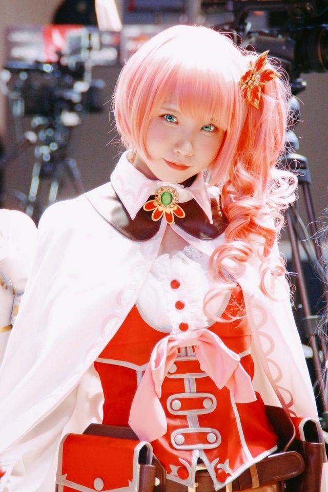 えなこ 東京ゲームショウ2018 『UNITIA 神託の使徒×終焉の女神』 リュインのコスプレ画像