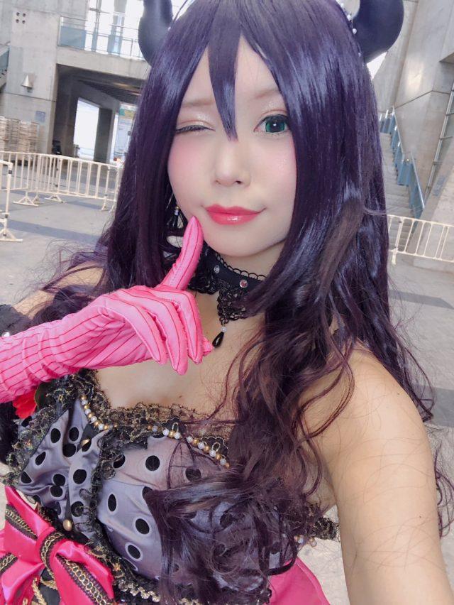 五木あきら C3AFA TOKYO 『ラブライブ』小悪魔のんたん コスプレ画像