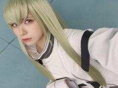 【画像】えなこ 『東京ゲームショウ2018』で披露した「コードギアス」C.C.と「UNITIA 神託の使徒×終焉の女神」リュインのコスプレまとめ