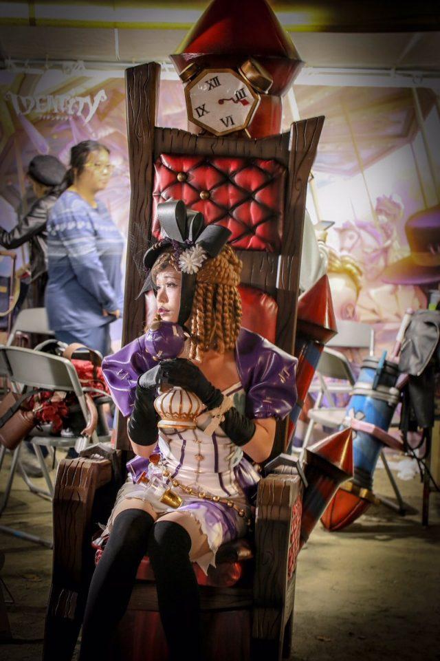 五木あきら 池袋ハロウィンコスプレフェス2018 『第五人格 Identity V』 調香師ウィラ・ナイエルのコスプレ画像
