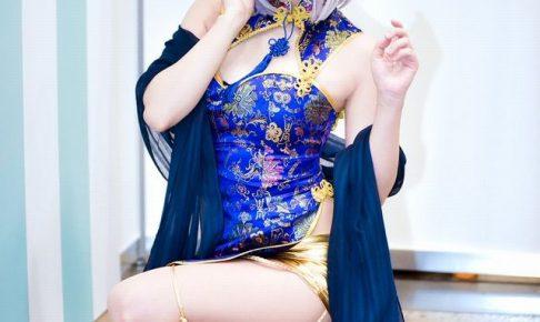 くろねこ C3AFA TOKYO2018 チャイナドレスのコスプレ画像