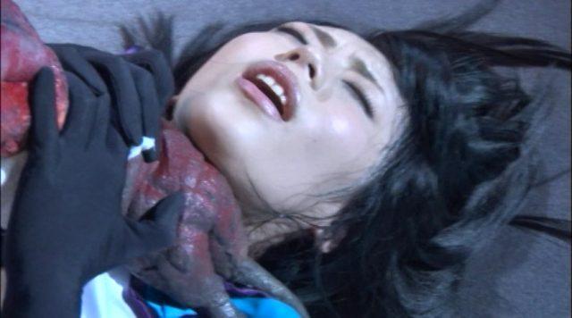 桜井あゆ 触手に犯される姿がエロい 『妖怪バスター凛子』 コスプレ画像