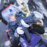 くろねこ 東京ゲームショウ2018 『ドールズフロントライン』 HK416のコスプレ画像
