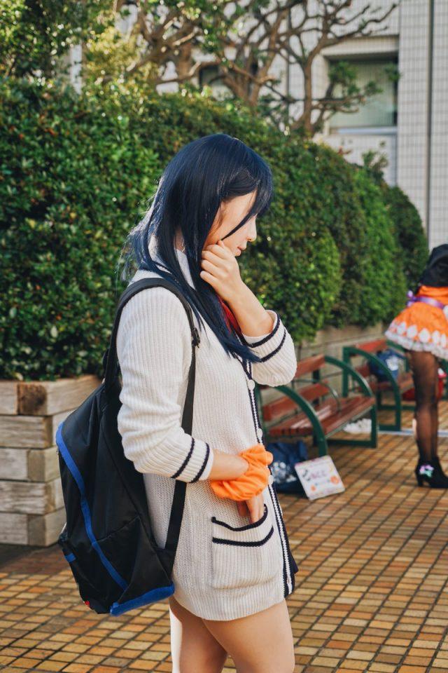 伊織もえ 池袋ハロウィンフェス2018 『SSSS.GRIDMAN』 宝田立花のコスプレ画像