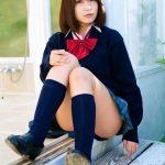 岸明日香 JK制服服のコスプレ画像