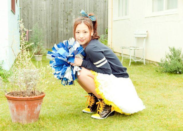 佐山彩香 チアガールのコスプレ画像