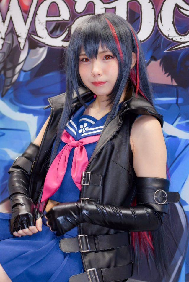 えなこ AnimeJapan2019 魔女兵器 レン コスプレ画像