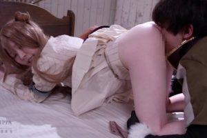 飛鳥りん 騙し討ちされたコスプレ美少女がマンコをしゃぶられてレイプされる動画 画像