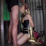 冥界の女神エレシ●キガル×アナル&マ●コ2穴中出しファック×10連続大量ザーメンぶっかけ すず(3)