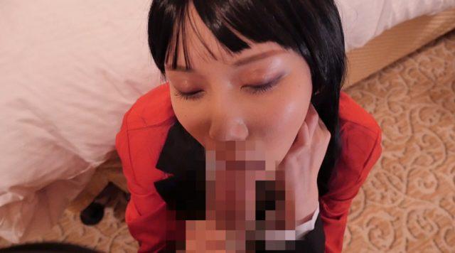 蛇喰夢子のコスプレ美少女がチンポしゃぶってマンコもハメられちゃう動画 画像